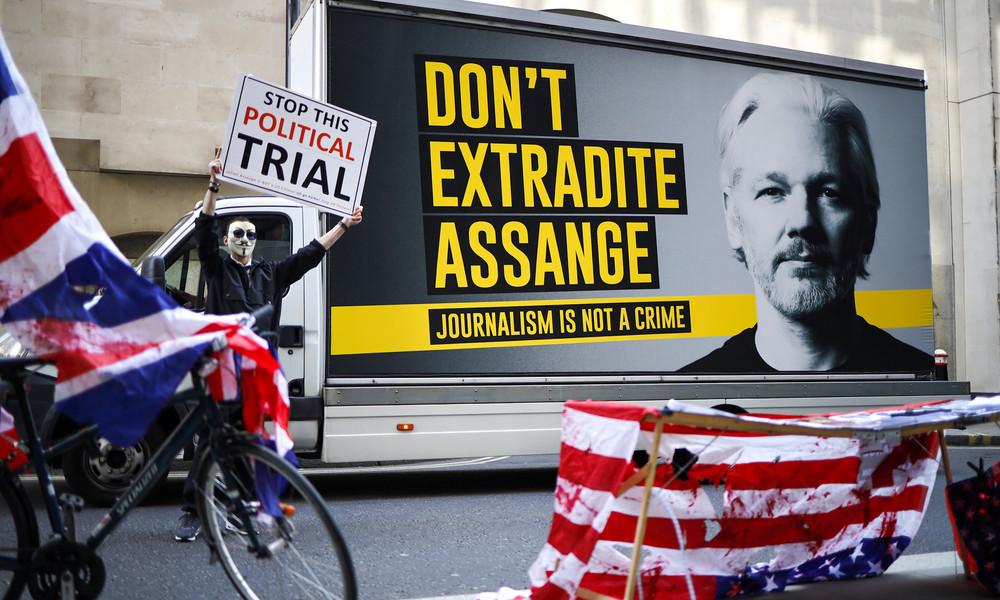 Gericht in London lehnt US-Antrag auf Auslieferung von Julian Assange ab