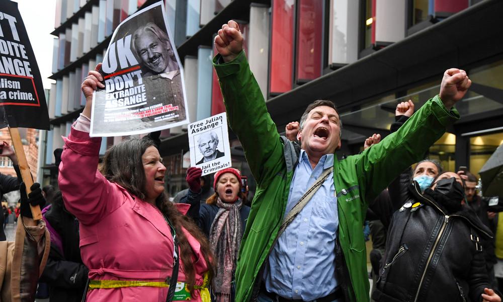 Julian Assange: Britisches Gericht lehnt Auslieferungsantrag der USA ab