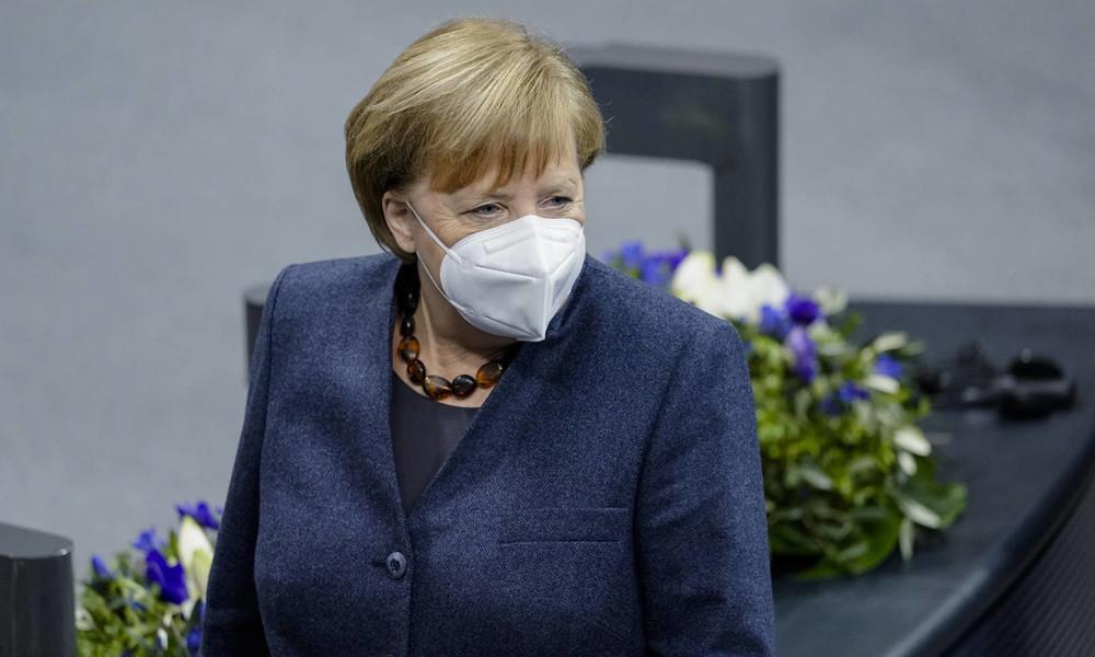 """Neue """"Corona""""-Maßnahmen: Merkel und Länderchefs beschließen Einschränkung der Bewegungsfreiheit"""