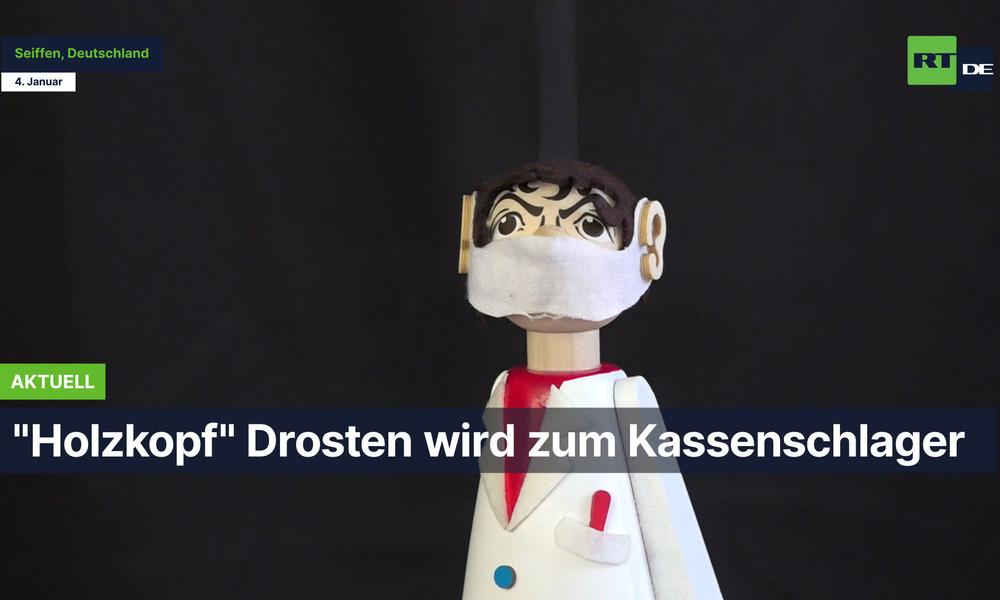 """""""Holzkopf"""" Drosten wird zum Kassenschlager"""