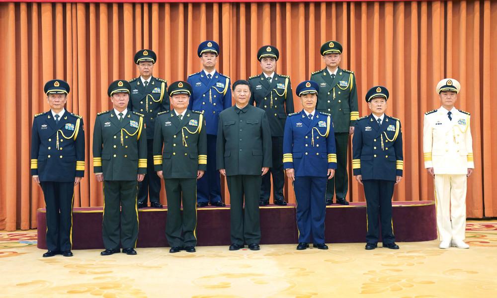 """Xi Jinping befiehlt chinesischer Armee: """"Zu jeder Sekunde"""" für den Kampf bereit sein"""