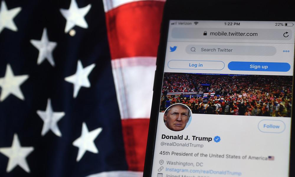 Nach Ausschreitungen am Kapitol: Twitter und Facebook sperren Konten von Donald Trump