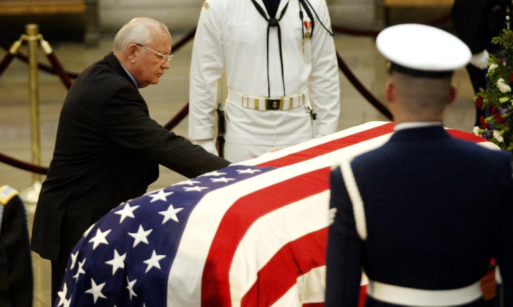 Gorbatschow: Ausschreitungen in Washington stellen weiteres Schicksal der USA infrage