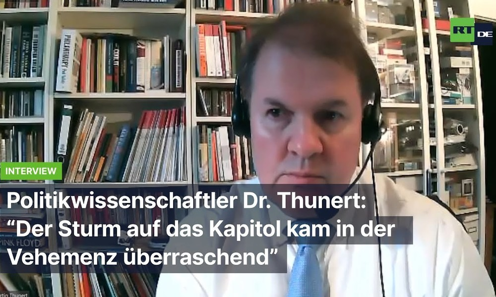 "Politikwissenschaftler Dr. Thunert: ""Trump-Anhänger leben in ihrer eigenen Welt"""