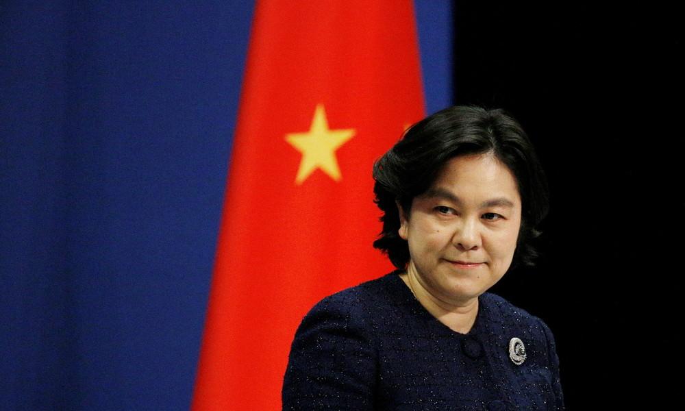 Sturm auf Kapitol: China beklagt sich über Doppelmoral der US-Medien