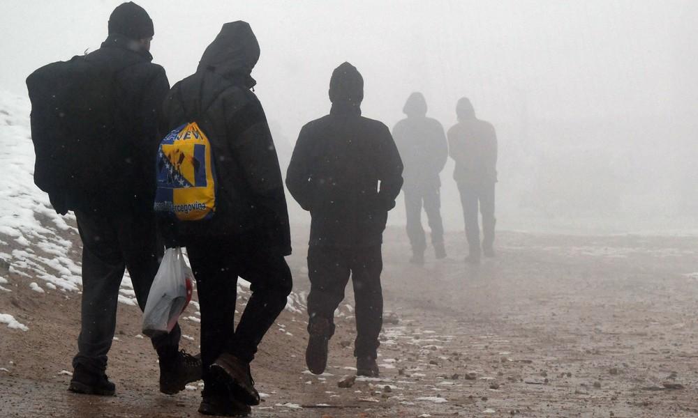 In Bosnien-Herzegowina brennt schon wieder ein Migrantencamp