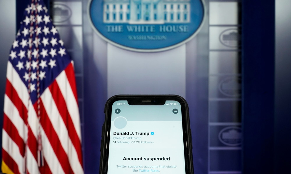 Twitter sperrt Konto von US-Präsident Donald Trump dauerhaft