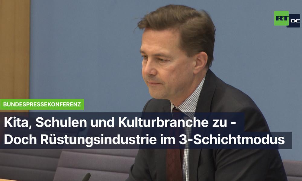 Alles zu im Lockdown? Nein – deutsche Rüstungsindustrie produziert auf Hochtouren