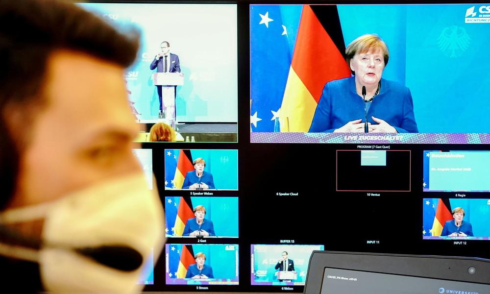 """Kanzlerin Merkel stimmt Bevölkerung auf """"die wohl schwierigste Phase der Pandemie"""" ein"""