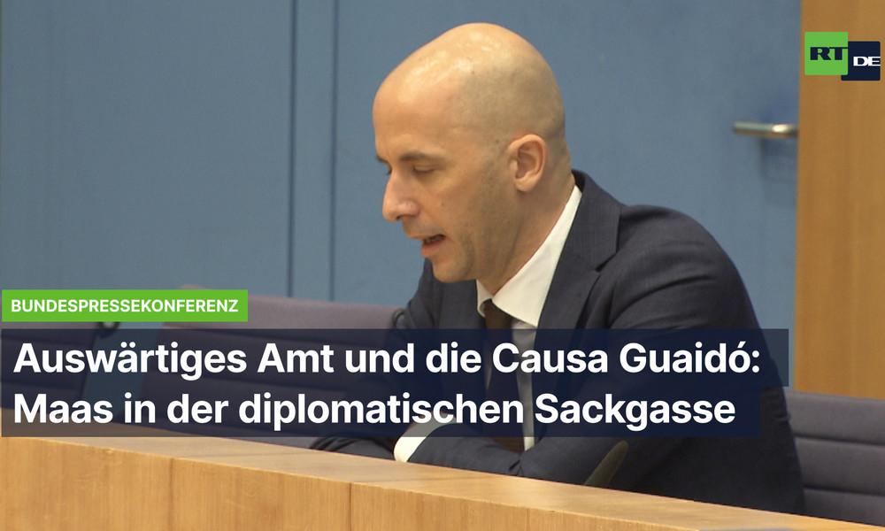 Erkennt Deutschland Guaidó noch immer an? Auswärtiges Amt will weder dementieren noch bestätigen