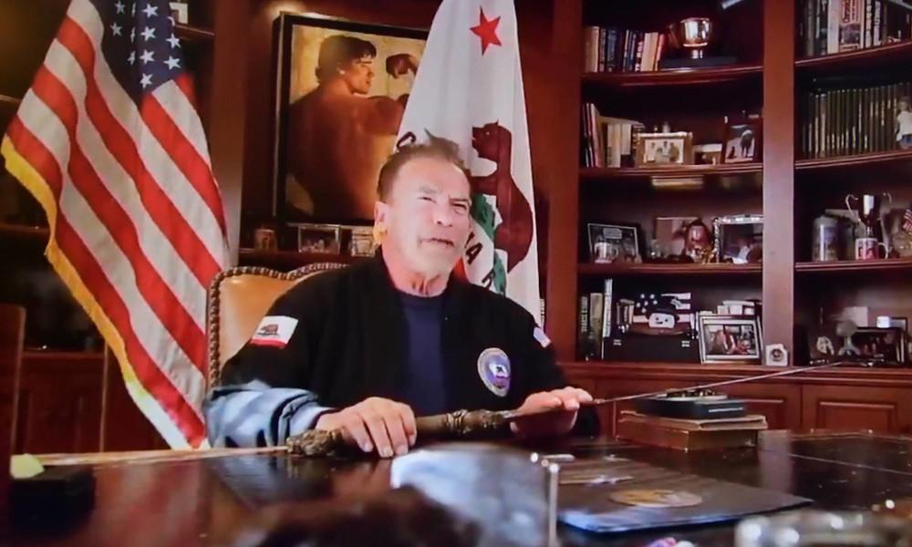 """Arnold Schwarzenegger vergleicht Sturm auf Kapitol mit """"Reichskristallnacht"""""""