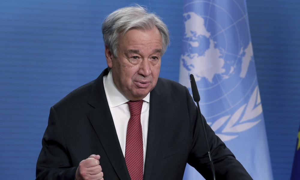 UN-Chef fordert mehr Multilateralismus und weniger Ungerechtigkeit