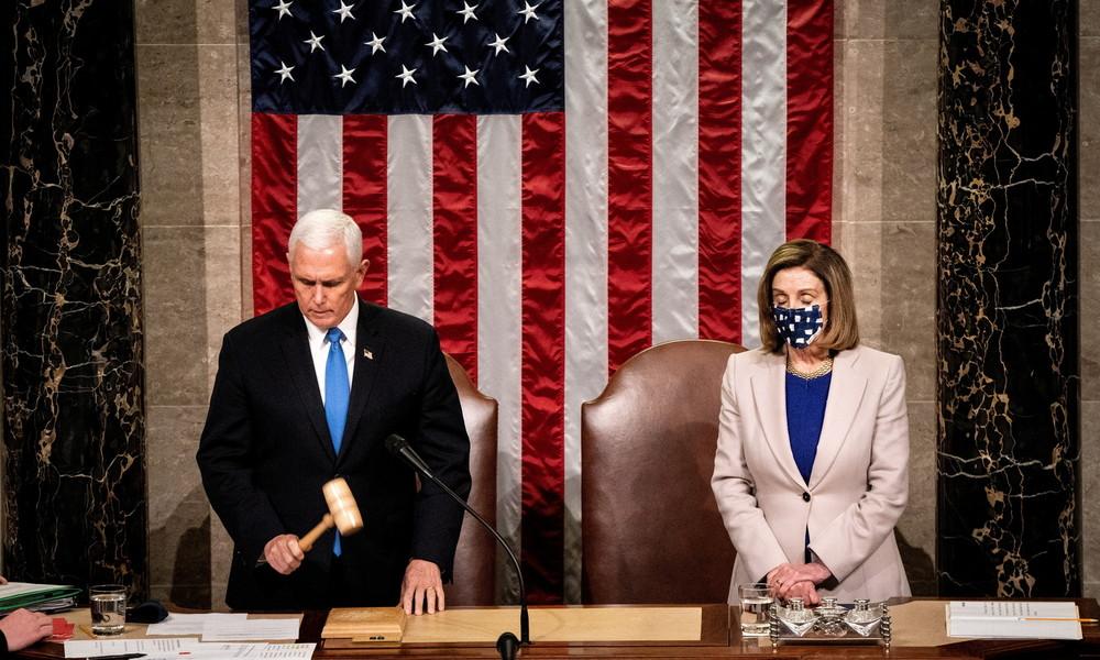 """""""Anstiftung zum Aufruhr"""" – Demokraten leiten Schritte für Amtsenthebung von Trump ein"""