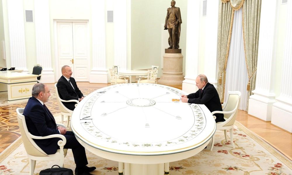 Aserbaidschan, Armenien und Russland zu trilateralen Gesprächen im Kreml