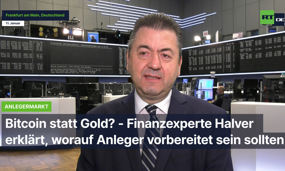 Bitcoin statt Gold? - Finanzexperte Halver erklärt, worauf Anleger vorbereitet sein sollten