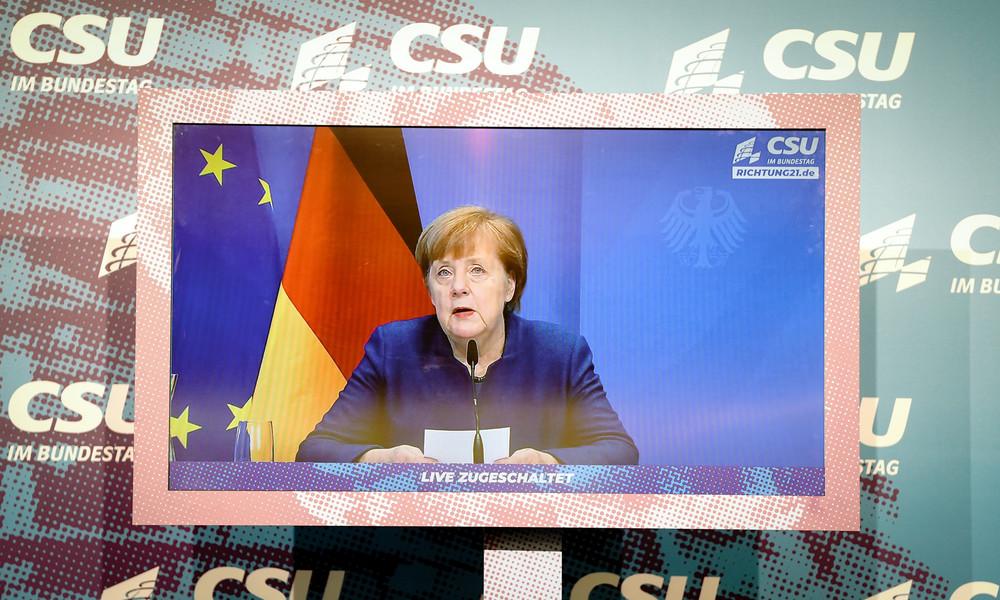 """Wegen """"Mutation"""": Merkel fordert Medienberichten zufolge Verlängerung des Lockdowns bis Ostern"""