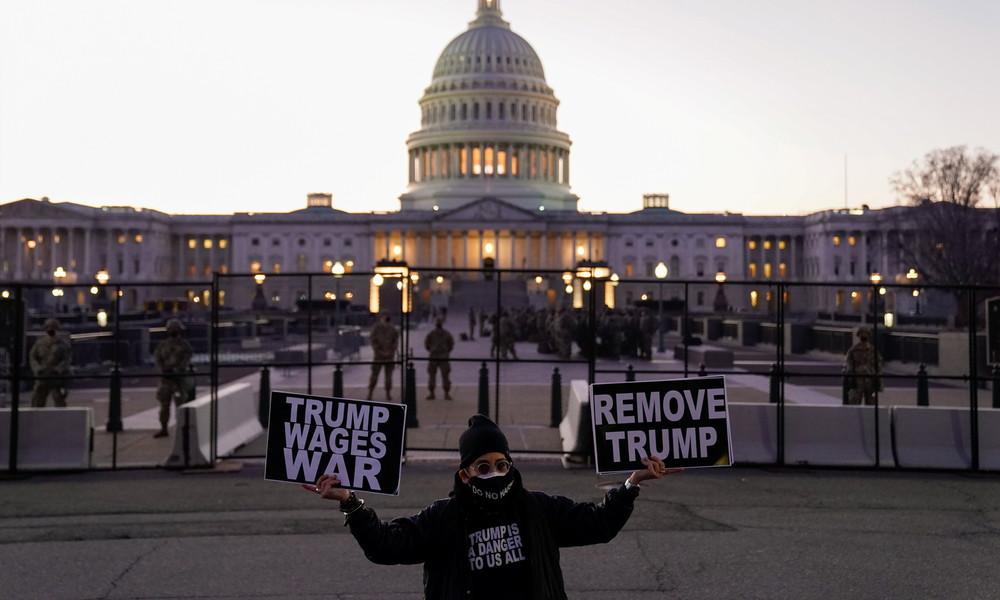 US-Repräsentantenhaus verabschiedet Resolution für Amtsenthebung von Donald Trump – Pence lehnt ab