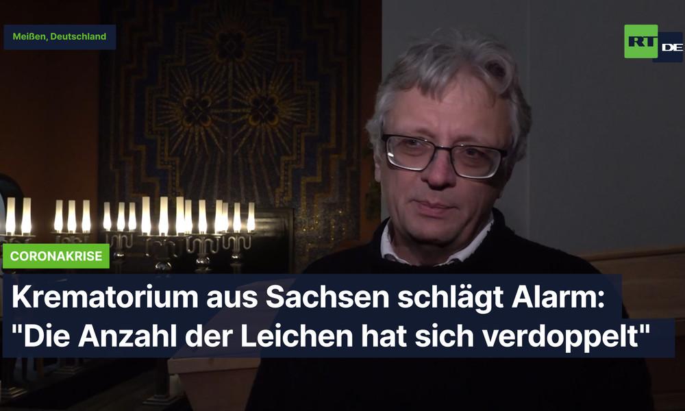 """Krematorium aus Sachsen schlägt Alarm: """"Die Anzahl der Leichen hat sich verdoppelt"""""""
