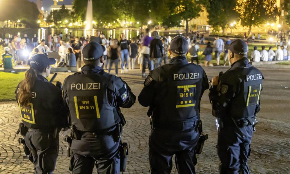 Prozess zu Stuttgarter Krawallnacht: Zwei Männer wegen versuchten Totschlags angeklagt