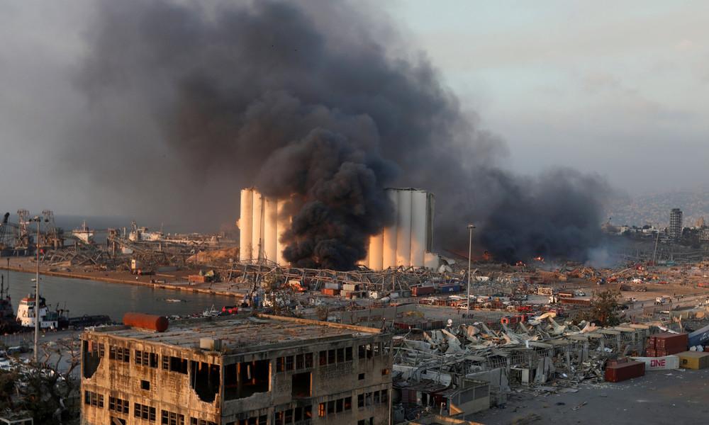 Explosion in Beirut: Besitzer und Kapitän des Frachtschiffes auf Fahndungsliste gesetzt