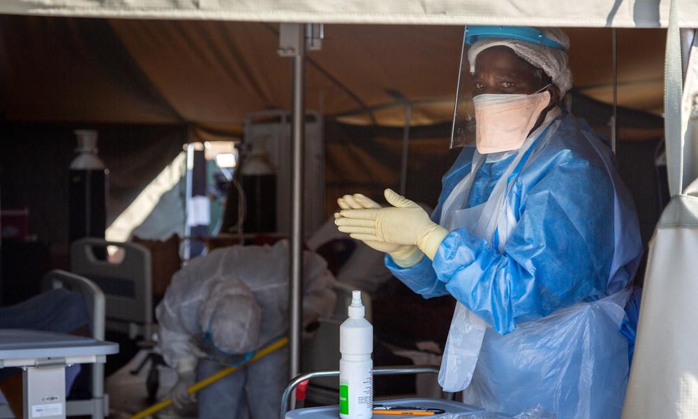 """Afrikanische Union: """"300 Millionen Impfdosen sind für Afrika sicher"""""""