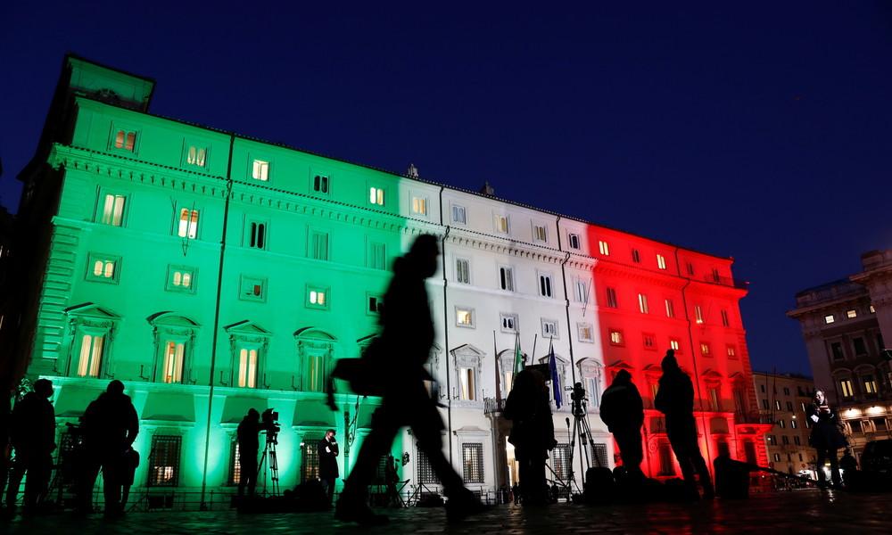 Nach Streit um Corona-Hilfen der EU: Italiens Regierungskoalition bricht auseinander
