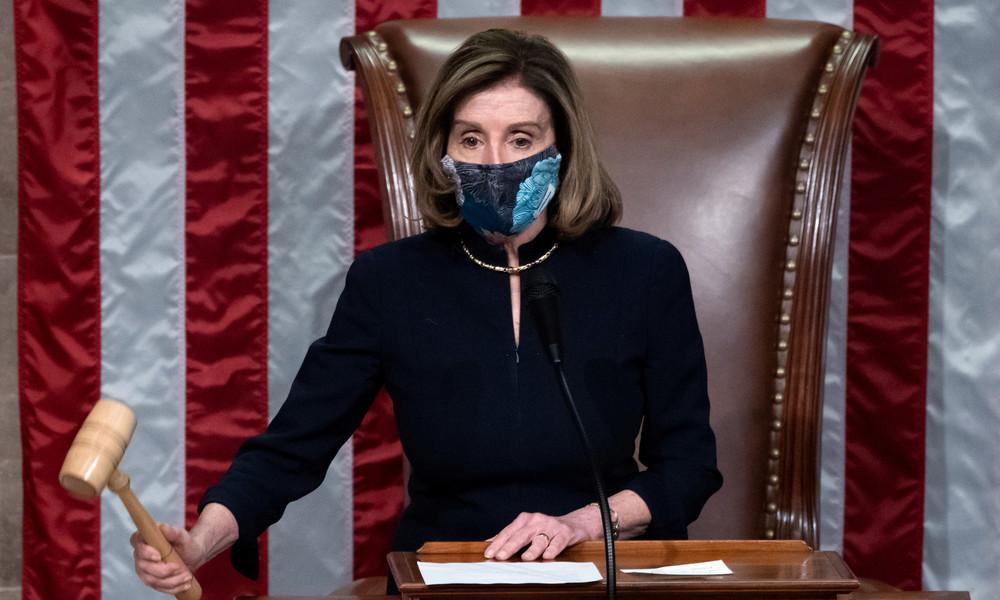 """""""Anstiftung zum Aufruhr"""": US-Repräsentantenhaus stimmt für Amtsenthebung von Donald Trump"""