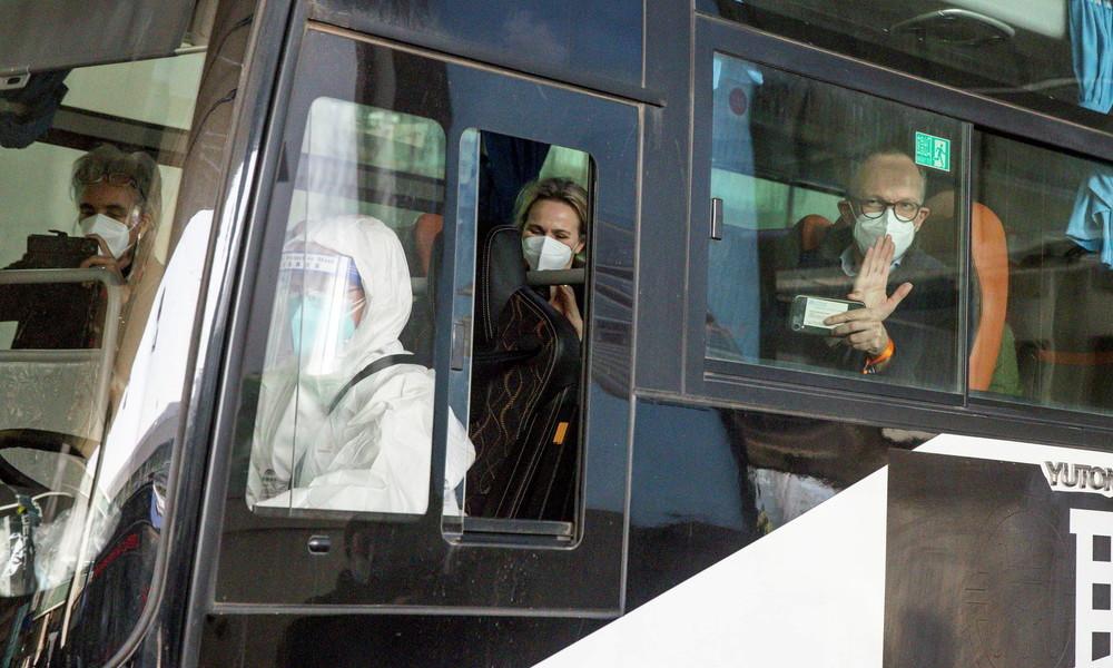 WHO-Experten treffen in Wuhan ein: Fachleute suchen nach Coronavirus-Ursprung