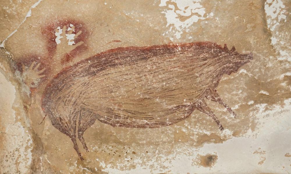 Indonesien: Ältestes Höhlenbild der Welt entdeckt – mindestens 45.500 Jahre alt