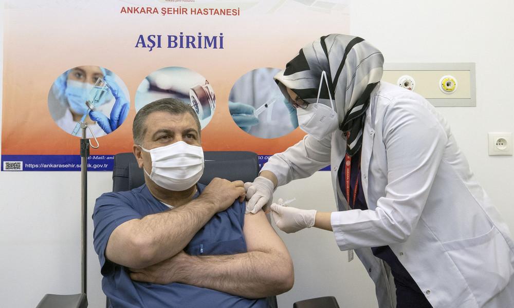 Türkei lässt Sinovac-Impfstoff aus China zur sofortigen Nutzung zu