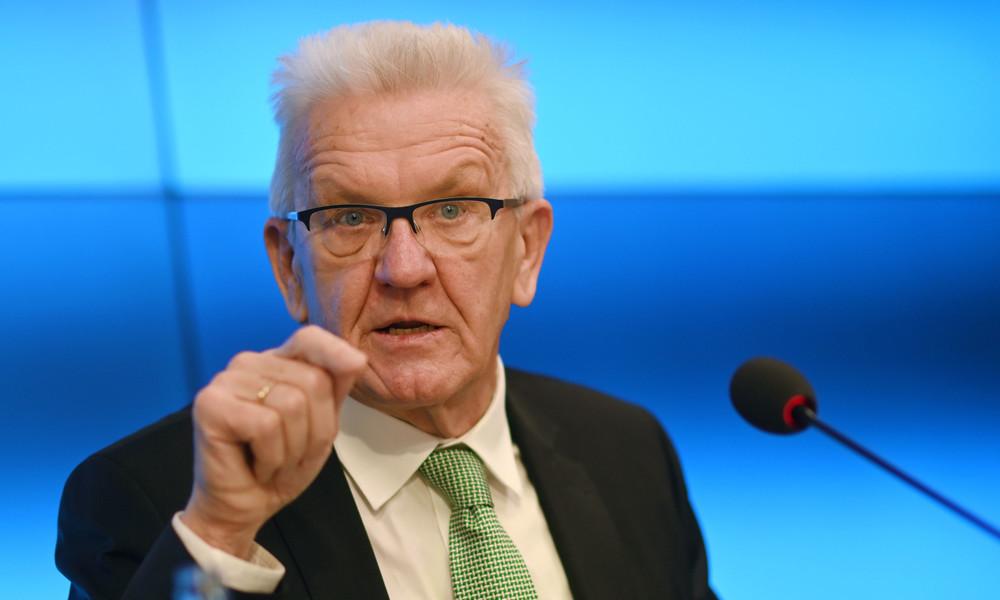 """""""Müssen davon ausgehen, dass wir müssen"""": Kretschmann fordert Verlängerung des Lockdowns"""