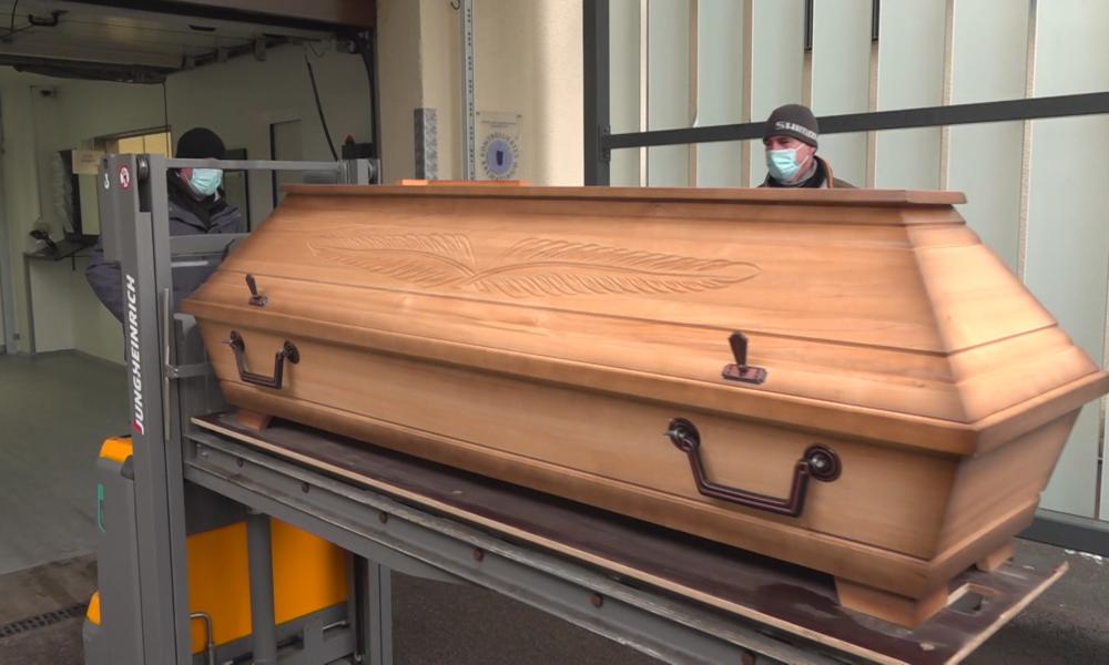 Ausnahmezustand im Nürnberger Krematorium: Leichen stapeln sich in externen Kühlcontainern