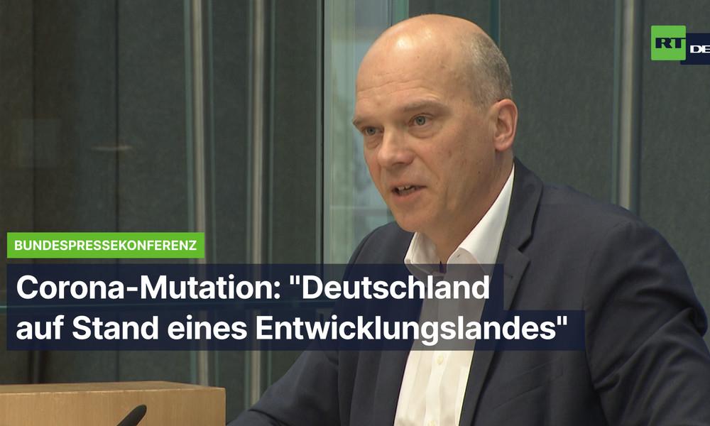 Bundespressekonferenz: Sind deutsche Labore in der Lage, die neue Coronavirus-Variante nachzuweisen?