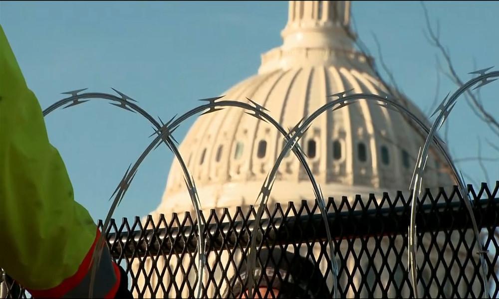 USA: Tausende Nationalgardisten und Stacheldrahtzaun – Kapitol wird zur Festung