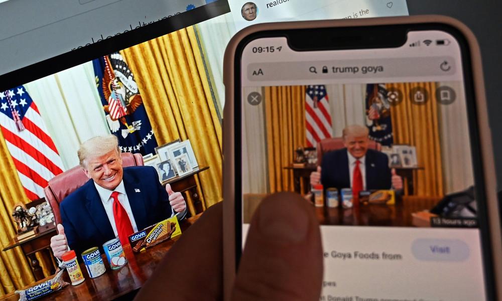 Donald Trumps Accounts auf Facebook und Instagram sind wieder öffentlich zugänglich