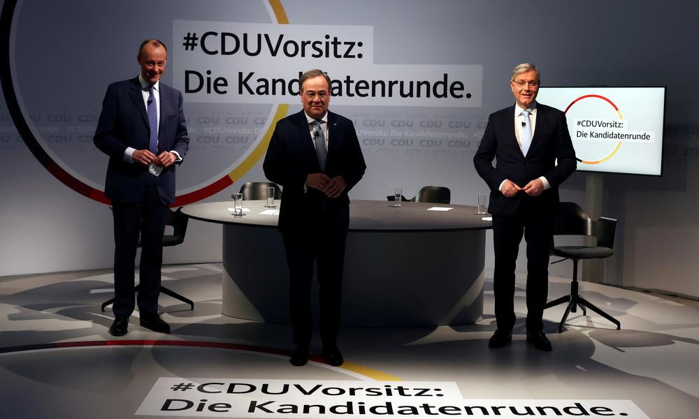 LIVE: Tag 2 des CDU-Parteitags in Berlin – Wahl des neuen Vorsitzenden
