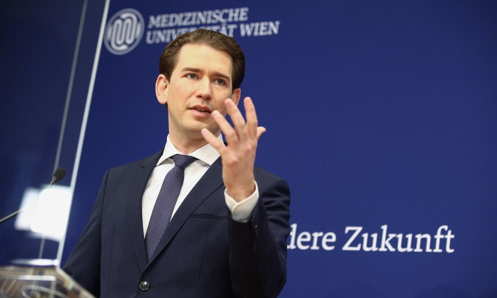 LIVE: Österreichs Bundeskanzler Sebastian Kurz gibt Presseerklärung zu neuen Corona-Maßnahmen