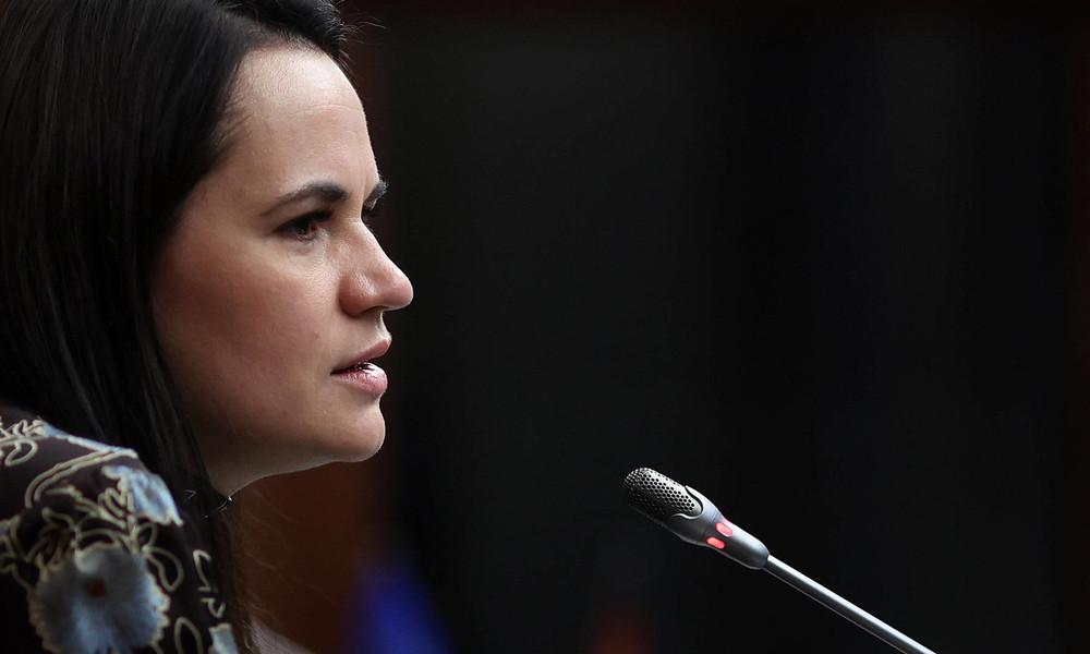 Abschiedsworte einer Putschistin – Swetlana Tichanowskaja auf dem CDU-Parteitag