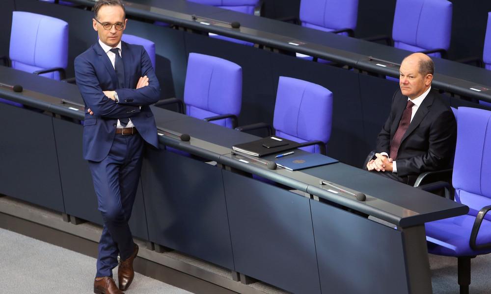 """Außenminister Maas fordert sofortige Freilassung von Nawalny, Scholz nennt Festnahme """"rechtswidrig"""""""