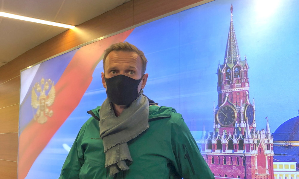 Gericht: Oppositionspolitiker Alexei Nawalny für 30 Tage unter Arrest