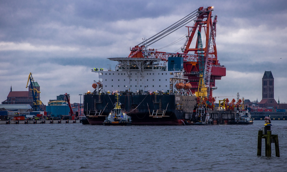 Nord Stream 2: Widerspruch setzt Baugenehmigung vorerst außer Kraft