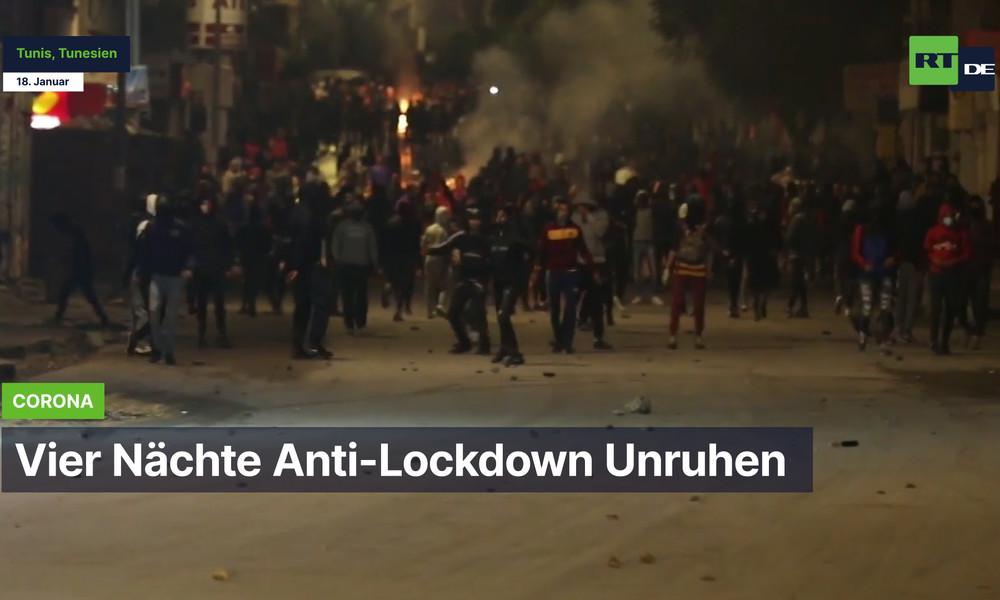 Tunesien: Vier Nächte Anti-Lockdown Unruhen