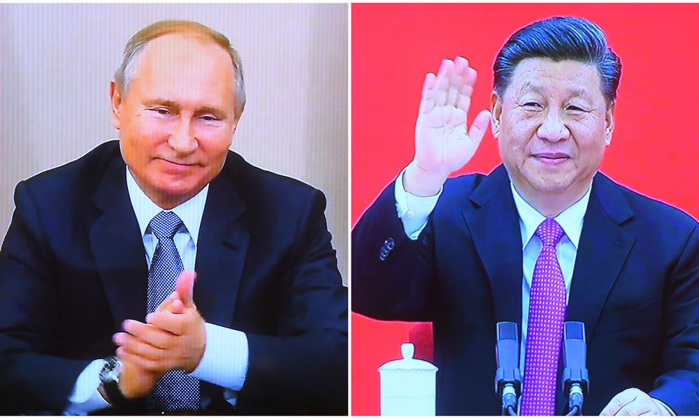 """Peking: Chinesisch-Russische Zusammenarbeit kennt """"keine Grenze"""""""