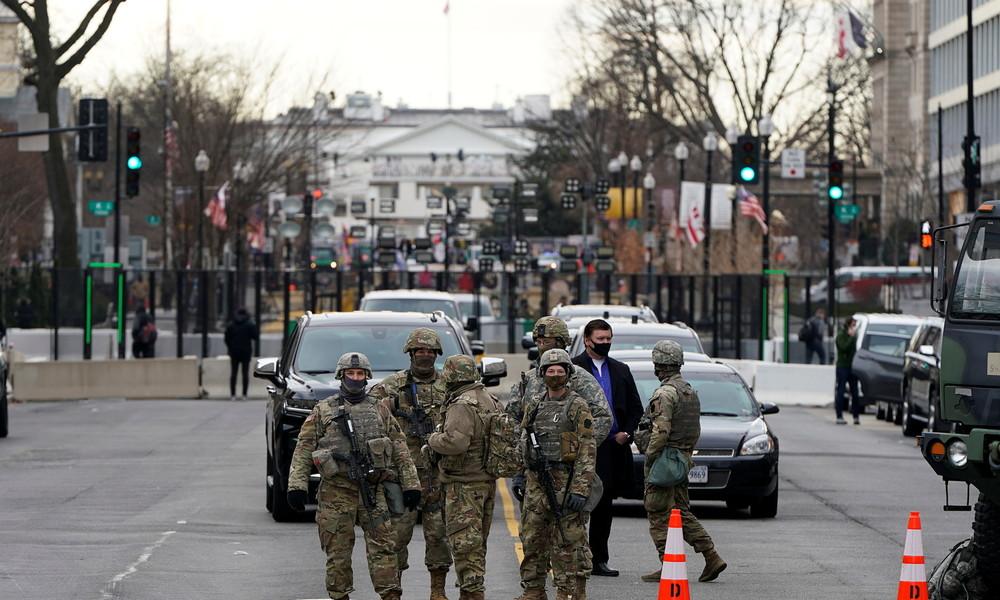 Zur Amtseinführung Joe Bidens: 25.000 Nationalgardisten in Alarmbereitschaft