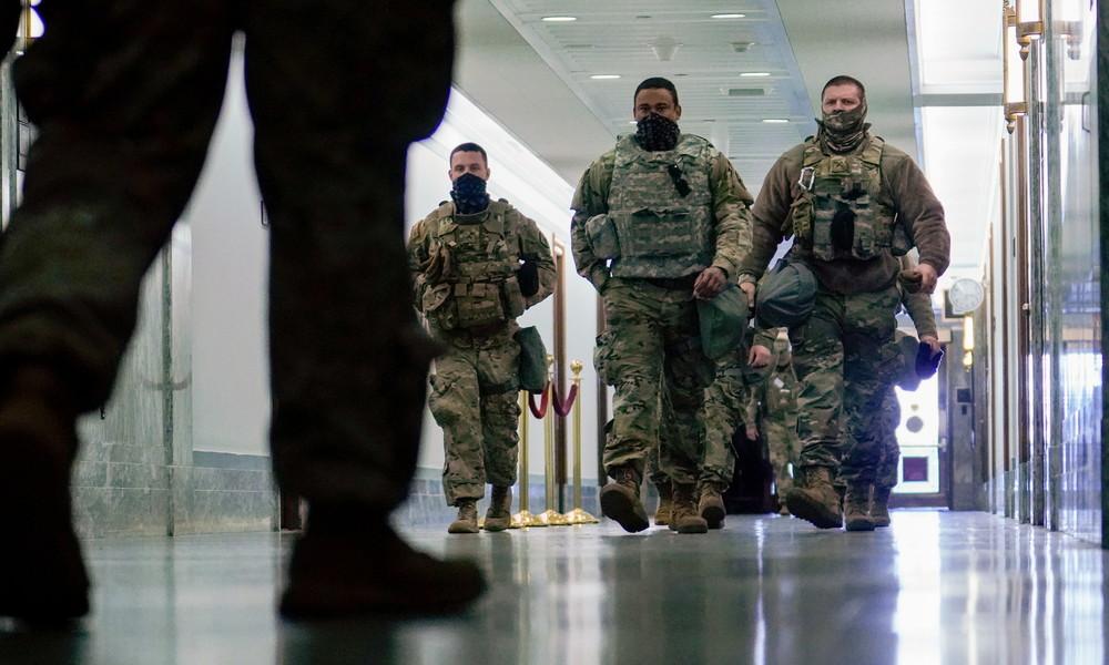 """""""Extremistische Verbindungen"""": Zwölf US-Nationalgardisten von Inaugurationsfeier abgezogen"""