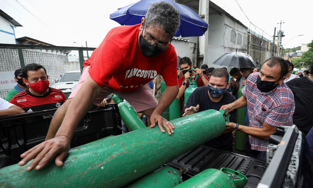 Caracas hilft Brasília bei Sauerstoffmangel: 107.000 Kubikmeter für COVID-19-Patienten in Manaus