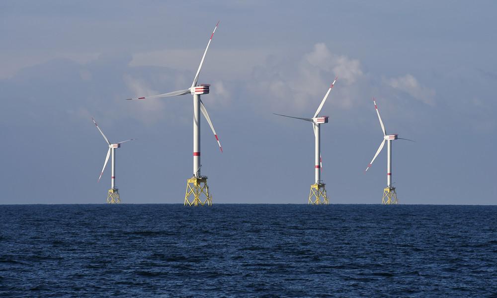 Erneuerbare Energien: Windparks in der Nordsee liefern so viel Strom wie nie zuvor