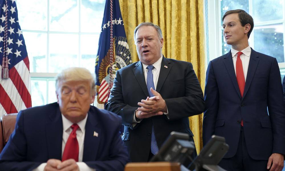 Berüchtigt für Lügen und Betrug – China zum Abschied von US-Außenminister Mike Pompeo