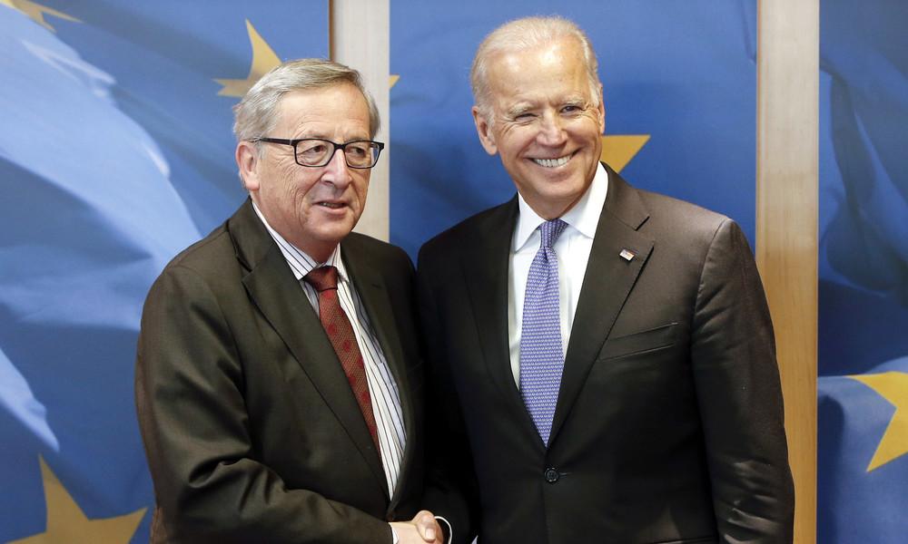 EU zu Amtsantritt von Joe Biden: Chance für Wiederbelebung transatlantischer Beziehungen