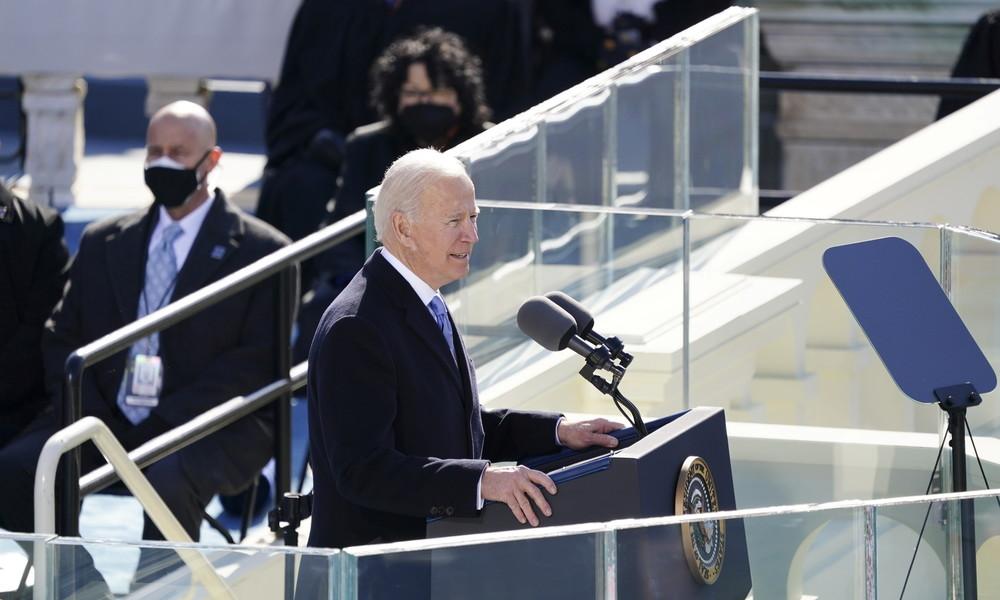 Joe Biden als neuer US-Präsident vereidigt – Trump bleibt Zeremonie fern